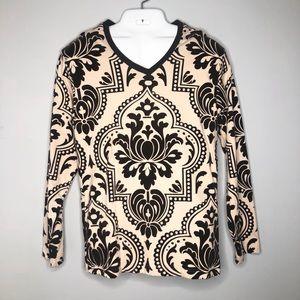 FABRIC BY BLACKBURN Men's Jacquard L/S Shirt